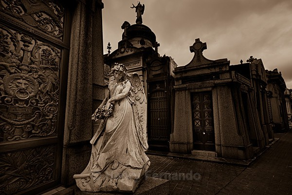 - Recoleta Cemetery, Buenos Aires