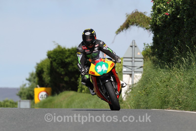 Steve Mercer Kawasaki / CMS/Tony Morris - Bikenation Lightweight TT