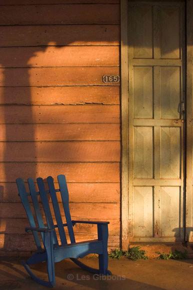 Blue Chair - Cuba