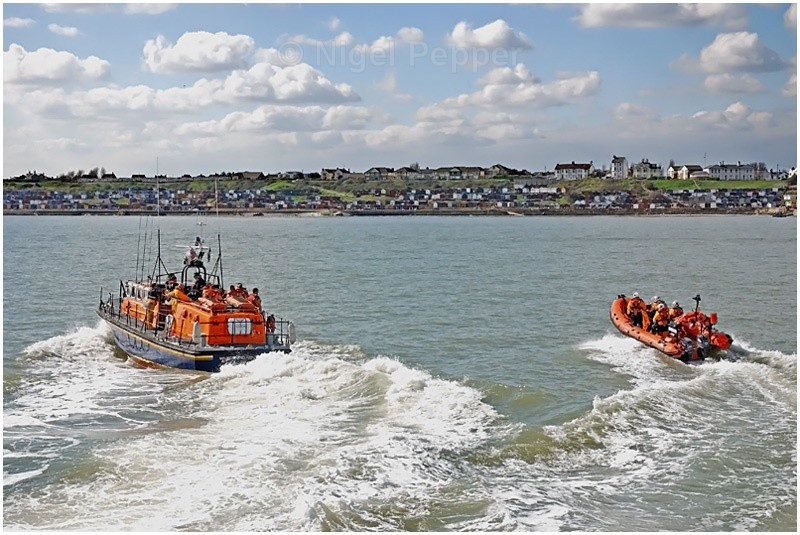 Visit From Clacton - Lifeboats