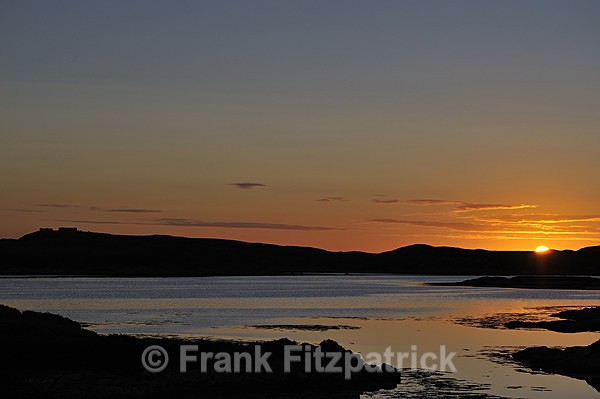 Sunrise, Loch Sheilavaig, Island of South Uist, Outer Hebrides - Island of South Uist in the Outer Hebrides