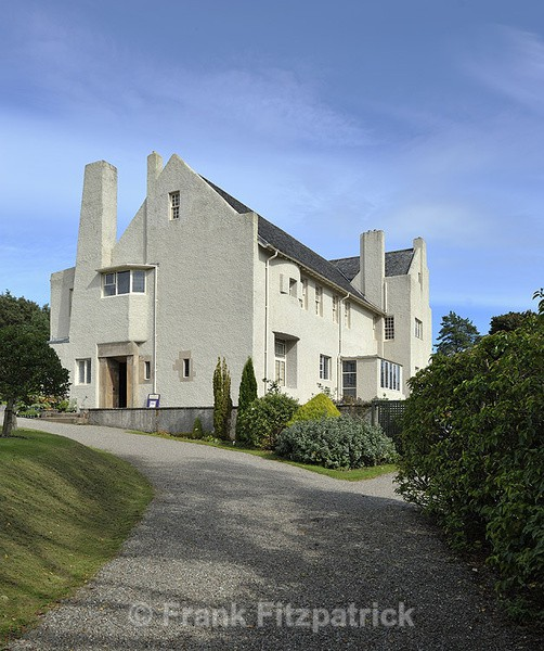 The Hillhouse, Helensburgh, Dumbartonshire, Scotland. - Architecture