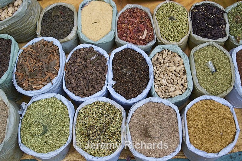 Spices for Sale - India