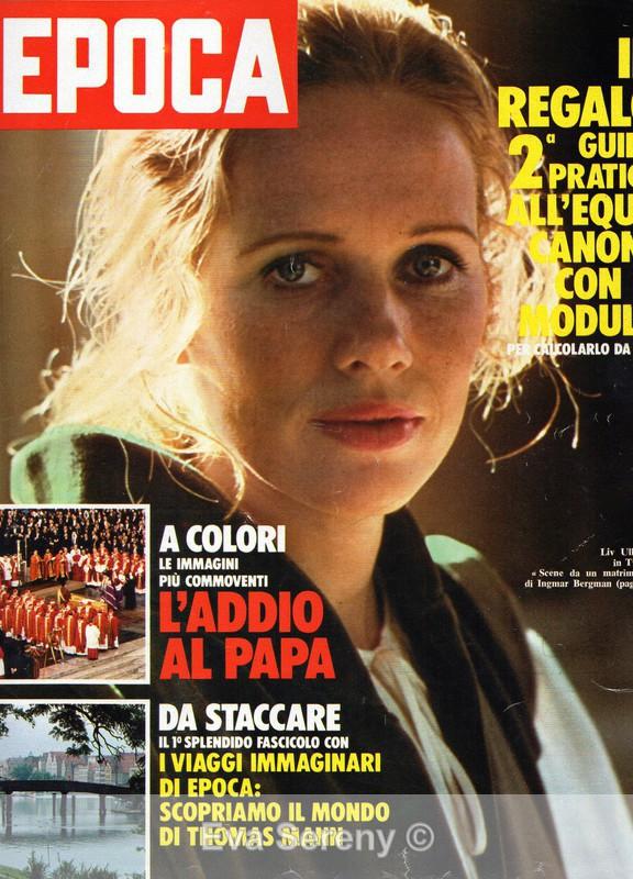 October 14, 1978 - International Magazine Covers
