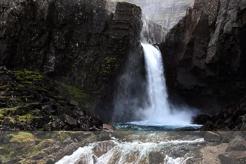 Folaldafoss waterfall, Iceland - Iceland