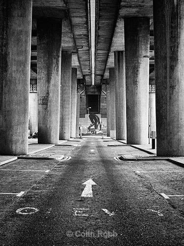 Kingston Bridge | Glasgow | photograph by Colin Robb