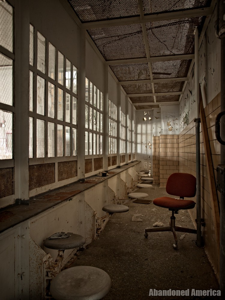 Essex County Jail Annex (Caldwell, NJ) | Visitor's Room - Essex County Jail Annex