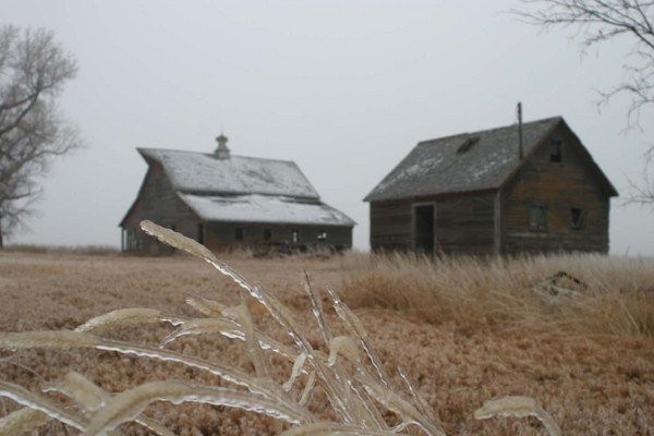 Winter Barn - Barns & Remnants