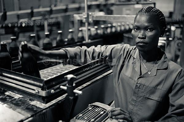 Factory Worker, SAB Miller, Juba, South Sudan