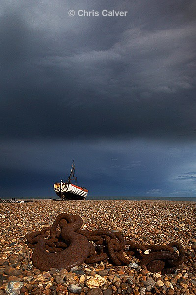 Stormy View - Suffolk Coastal Scenes