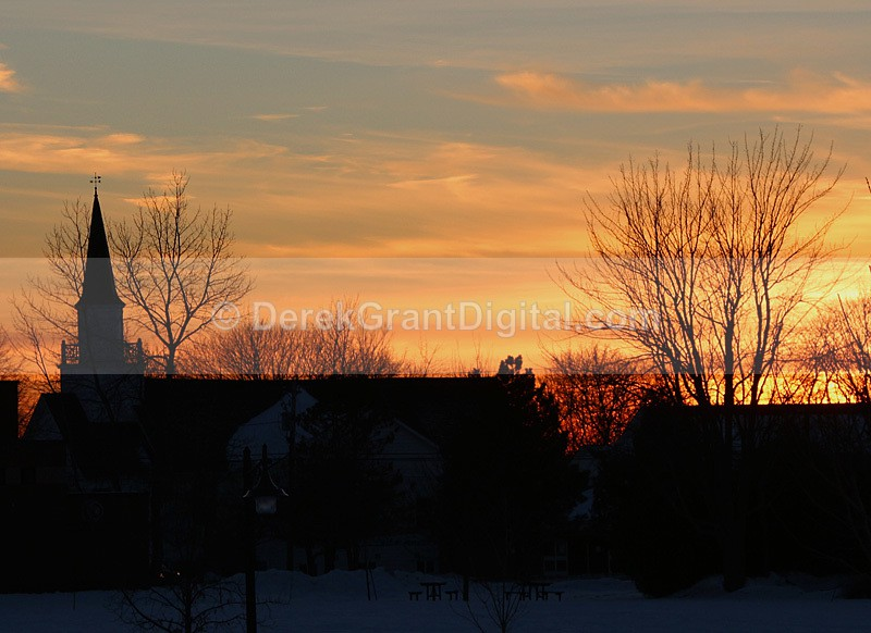 St. David's @ Sunset Rothesay New Brunswick Canada - Rothesay