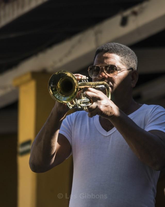 Trumpeter - Cuba