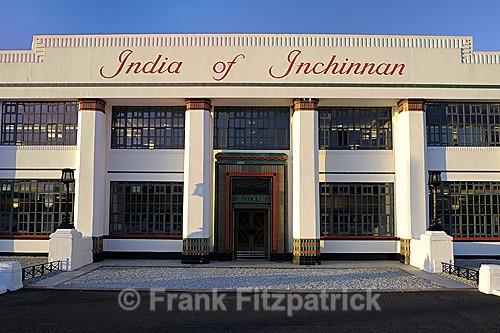 Front elevation India Tyres, Inchinnan, Scotland. - Renfrewshire