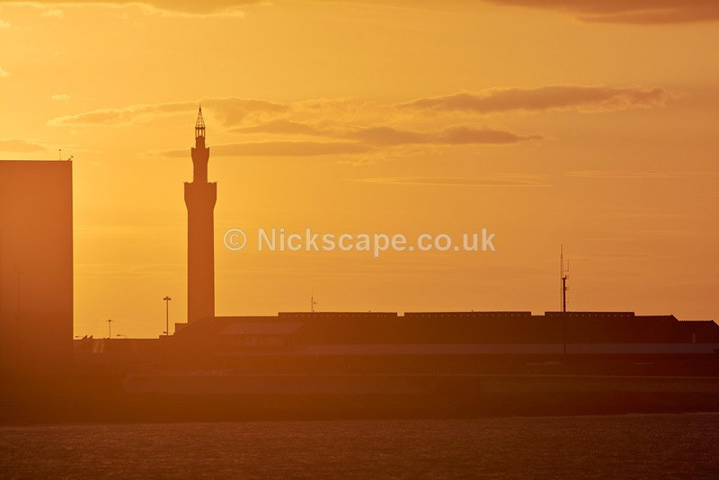 Close up of Grimsby Dock Tower