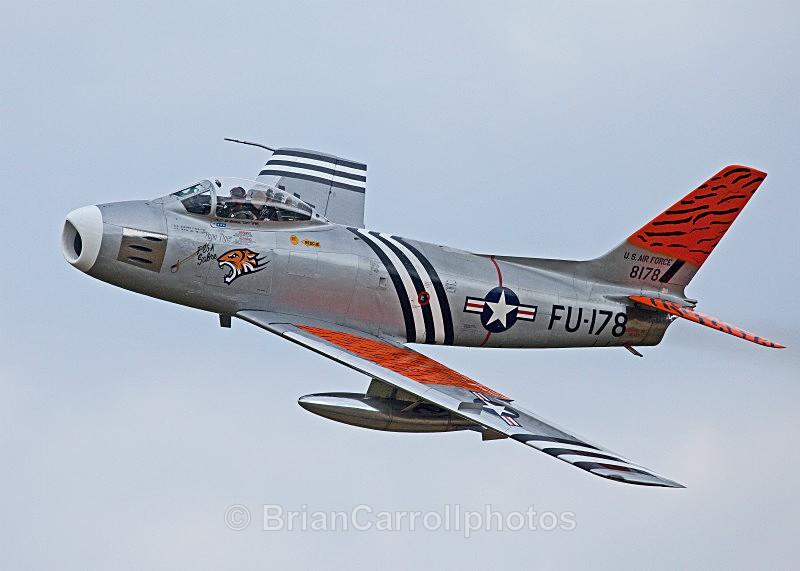 USAF North American F-86 Sabre - Shuttleworth Air Show