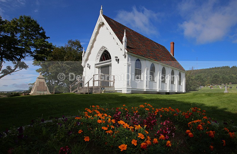 Frances Robertson Memorial Church, Riverbank, New Brunswick Canada - Churches of New Brunswick