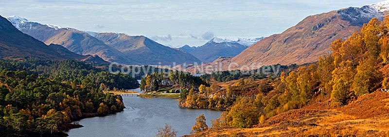 Glen Affric, Highland2 - Panoramic format