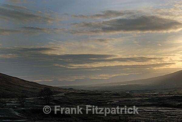 Winters dawn, Glen Coe - Highland