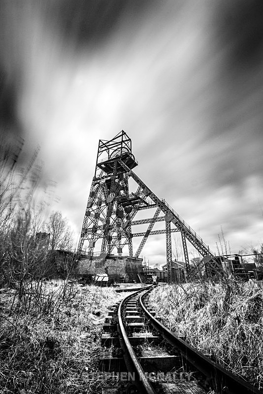 Track to the Pit - Industrial /urban