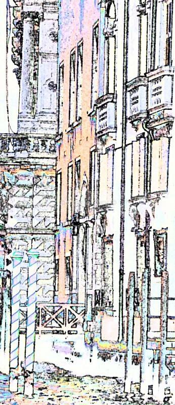 Grand Canal Poles - Venice