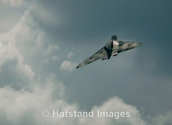 Avro Vulcan XH558 - in the air