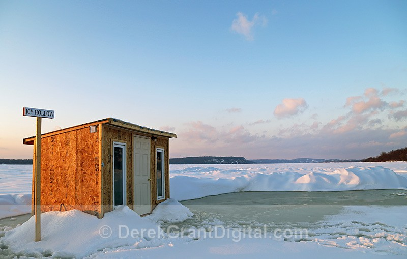 A Very Cool Place Name Renforth Ice Fishing Shacks - Ice Shacks