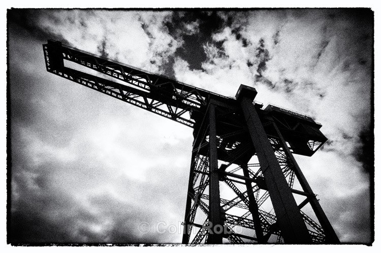 Finnieston Crane | Glasgow | photograph by Colin Robb