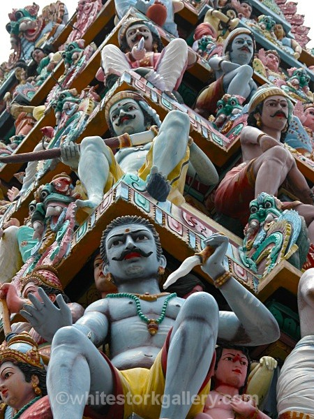 Hindu Temple, Singapore - Asia