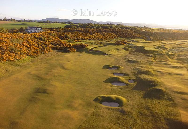 Royal Dornoch 5th - Scottish Links Aerial Images
