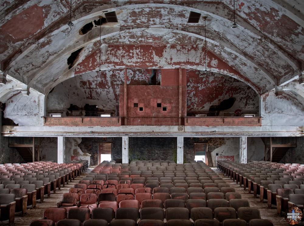 Auditorium Rear | Norwich State Hospital