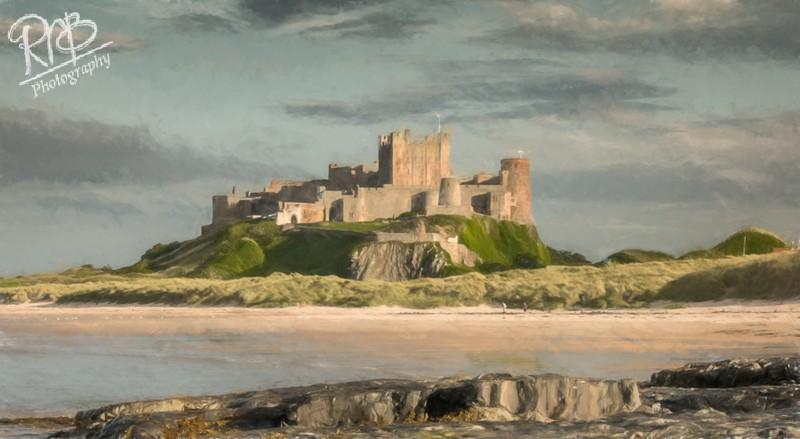Bamborough Castle - Digital Paintings
