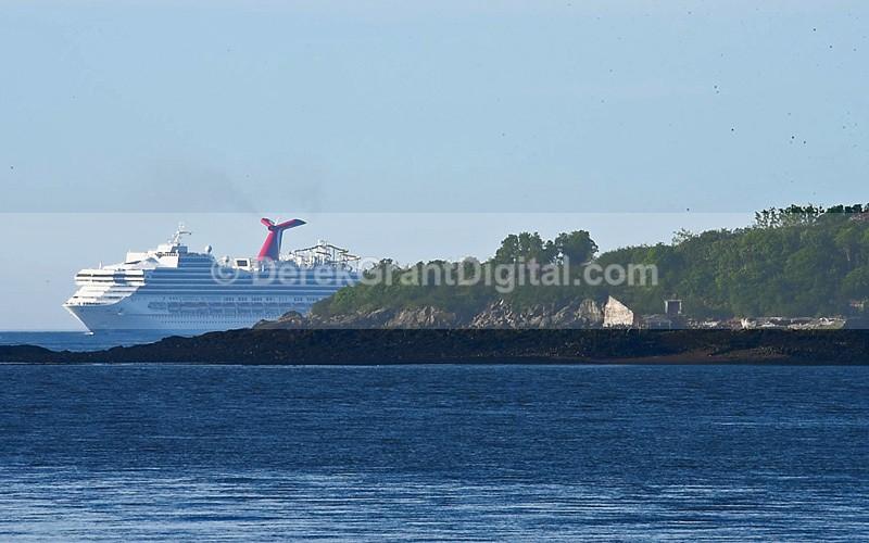 Carnival Sunshine Cruise Ships Saint John New Brunswick Canada - Cruise Ships