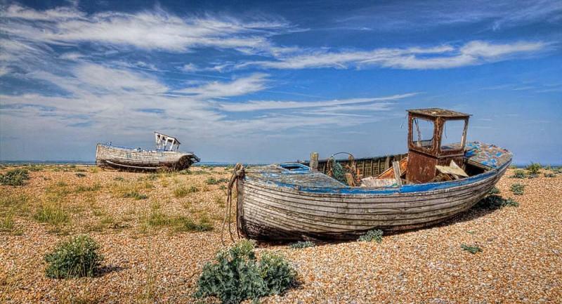dungeness -boats - Kent