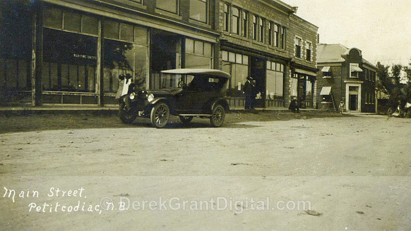 Main Street Petitcodiac New Brunswick Canada - Historic New Brunswick