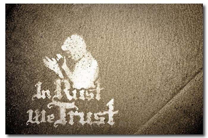 In Rust We Trust - It's A Sign