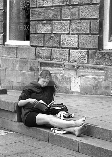 A quiet read - Street Photography