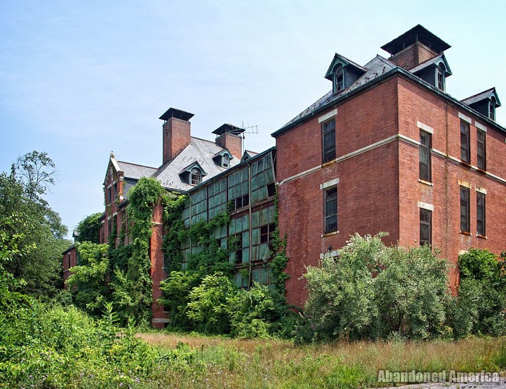 Overgrown | Norwich State Hospital