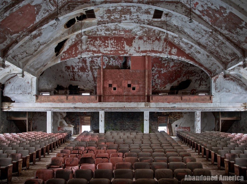 Auditorium Rear | Norwich State Hospital