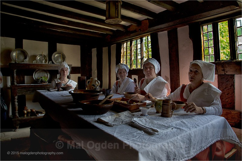 Mary Arden House - Re-enactments