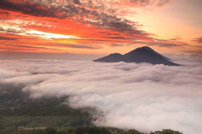 Above the Clouds - Volcano Dawn (Bali and Beyond)