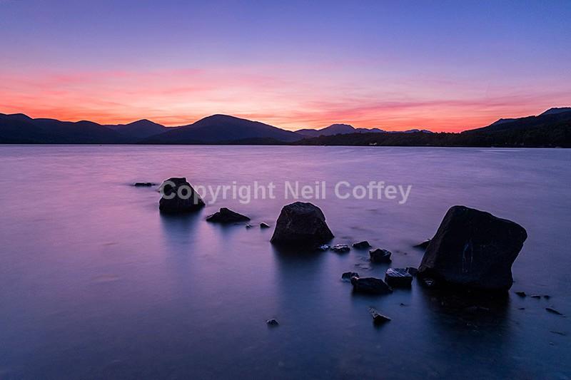 Loch Lomond from Millarochy, The Trossachs2 - Landscape format