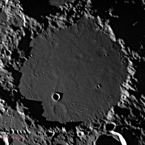 Ptolemaeus & its ghost craters - Moon: Central Region