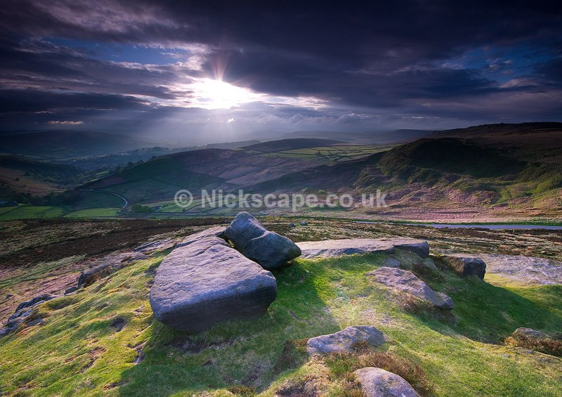 Callow Bank from Higger Tor - Derbyshire159 - Peak District Landscape Photography Gallery