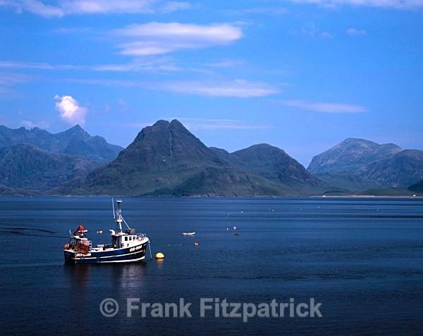 Cuillin hills, Skye from Elgol - Isle of Skye