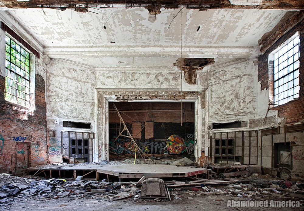 Gary, Indiana | City Methodist Church Stage - Gary, Indiana