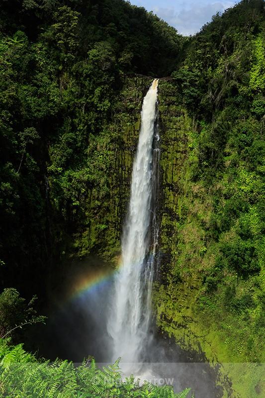 Rainbow at Akaka Falls, Hawaii - Hawaiian Islands, USA