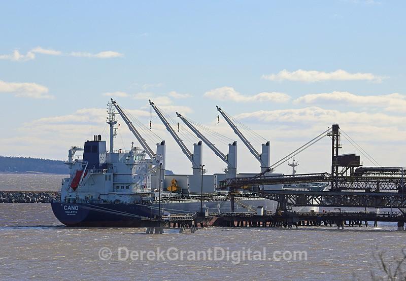 Cano Valetta Bulk Carrier Port of Saint John - Boats