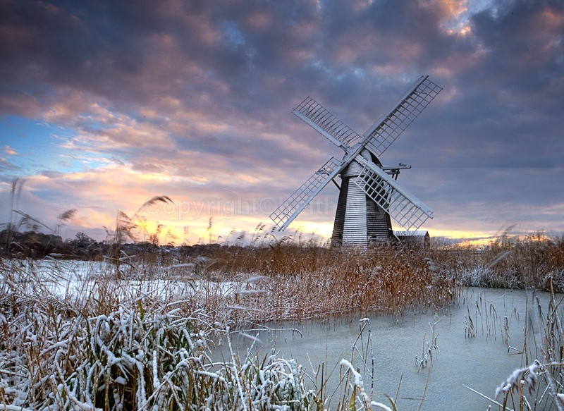 Winter at Herringfleet - 2010