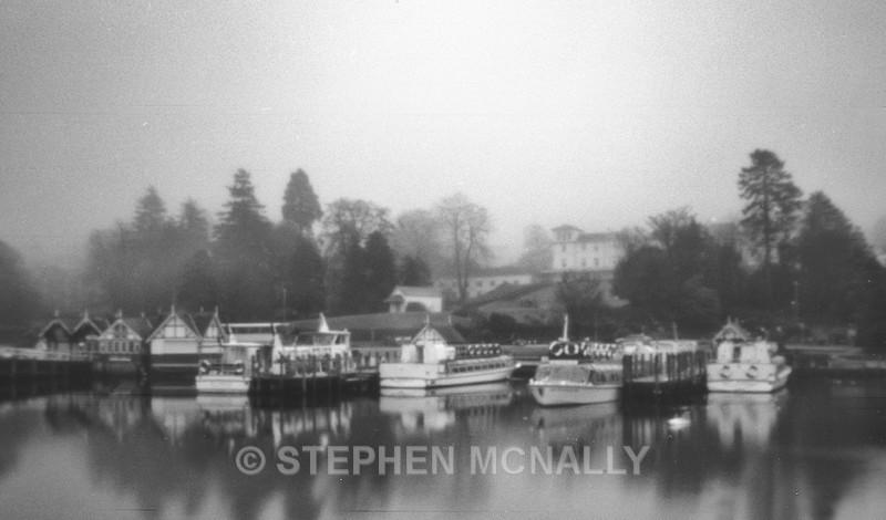 boats bowness - Pinhole Photography