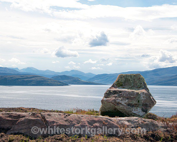 View of Summer Isles - Scottish Highlands